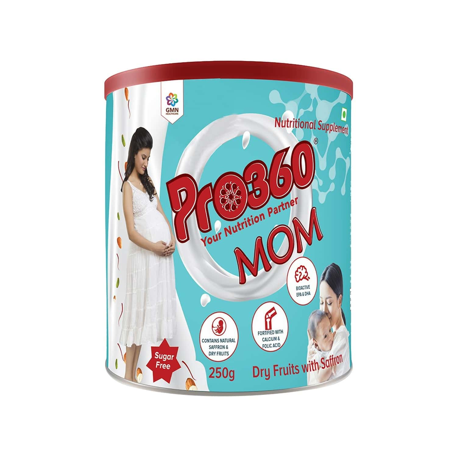 Pro360 Mom Dry Fruits Nutrition Drink Tin Of 250 G
