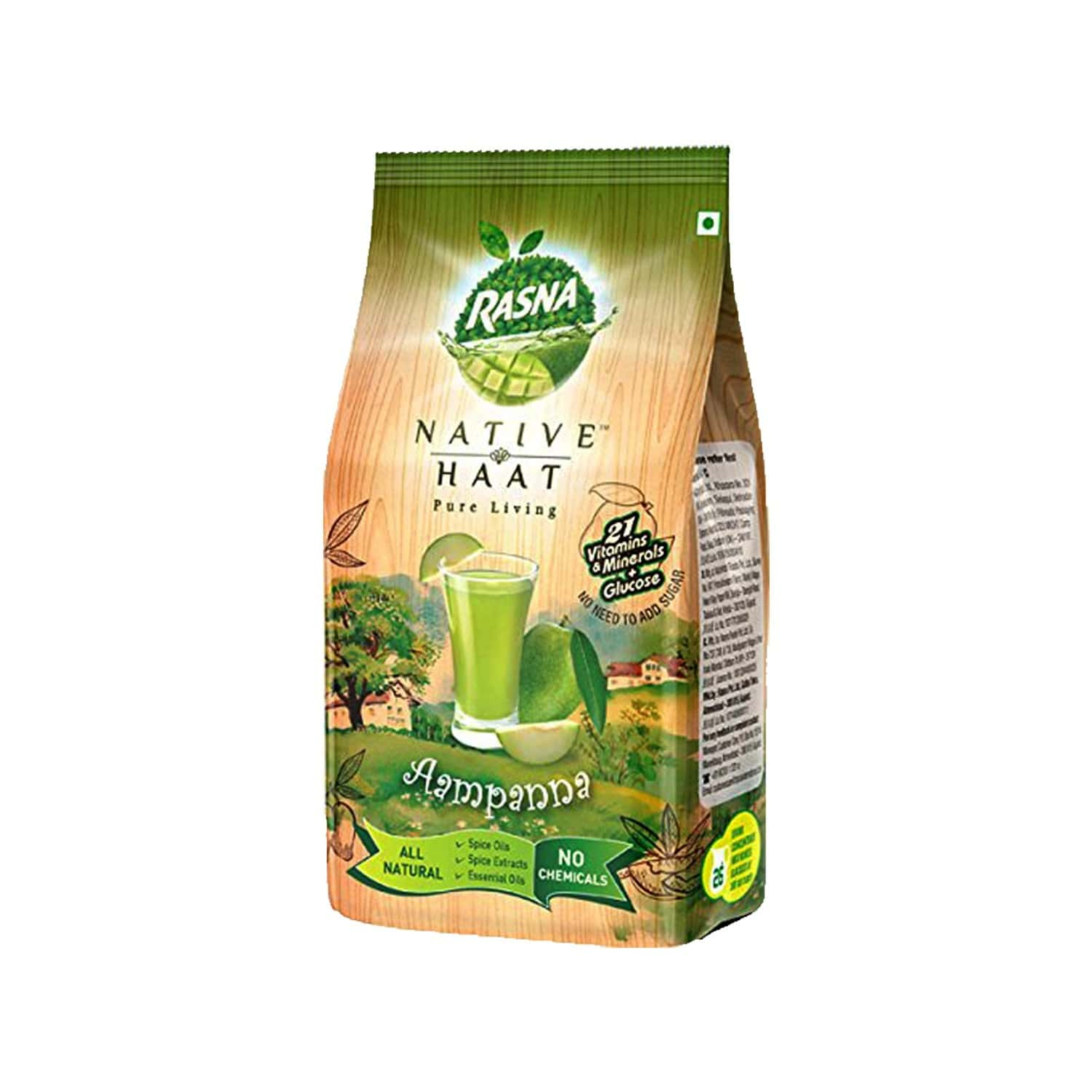 Rasna Native Haat Aampanna -instant Drink Concentrate Mix 500 G