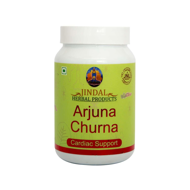 Jindal Herbals Arjuna Cardiac Support Churna Bottle Of 100 G