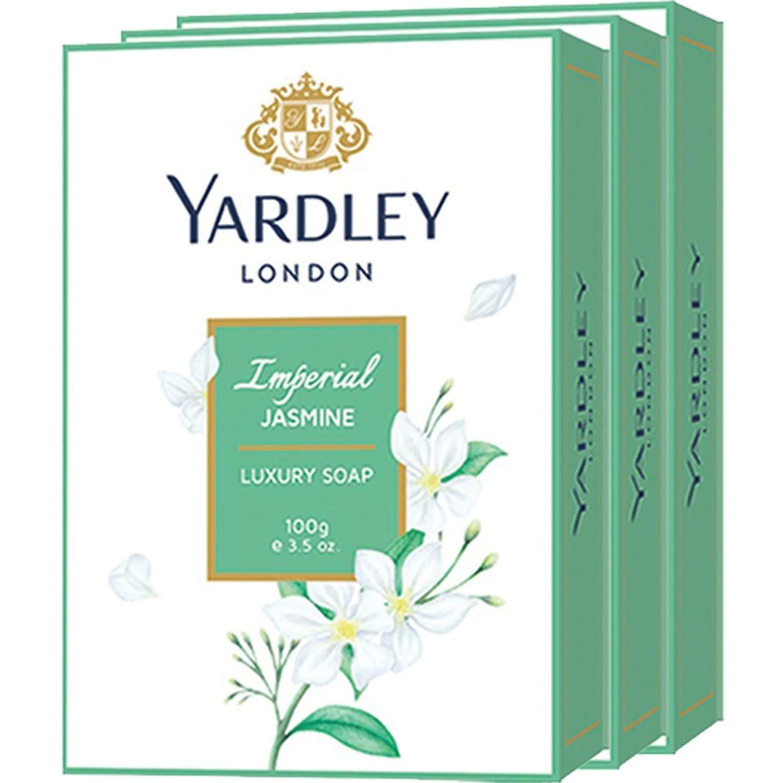 Yardley London Imperial Jasmine Luxury Soap - 100 Gm (pack Of 3)