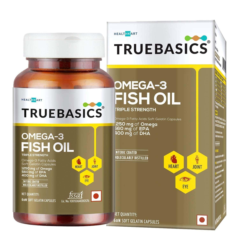 Truebasics Omega - 60 Softgels