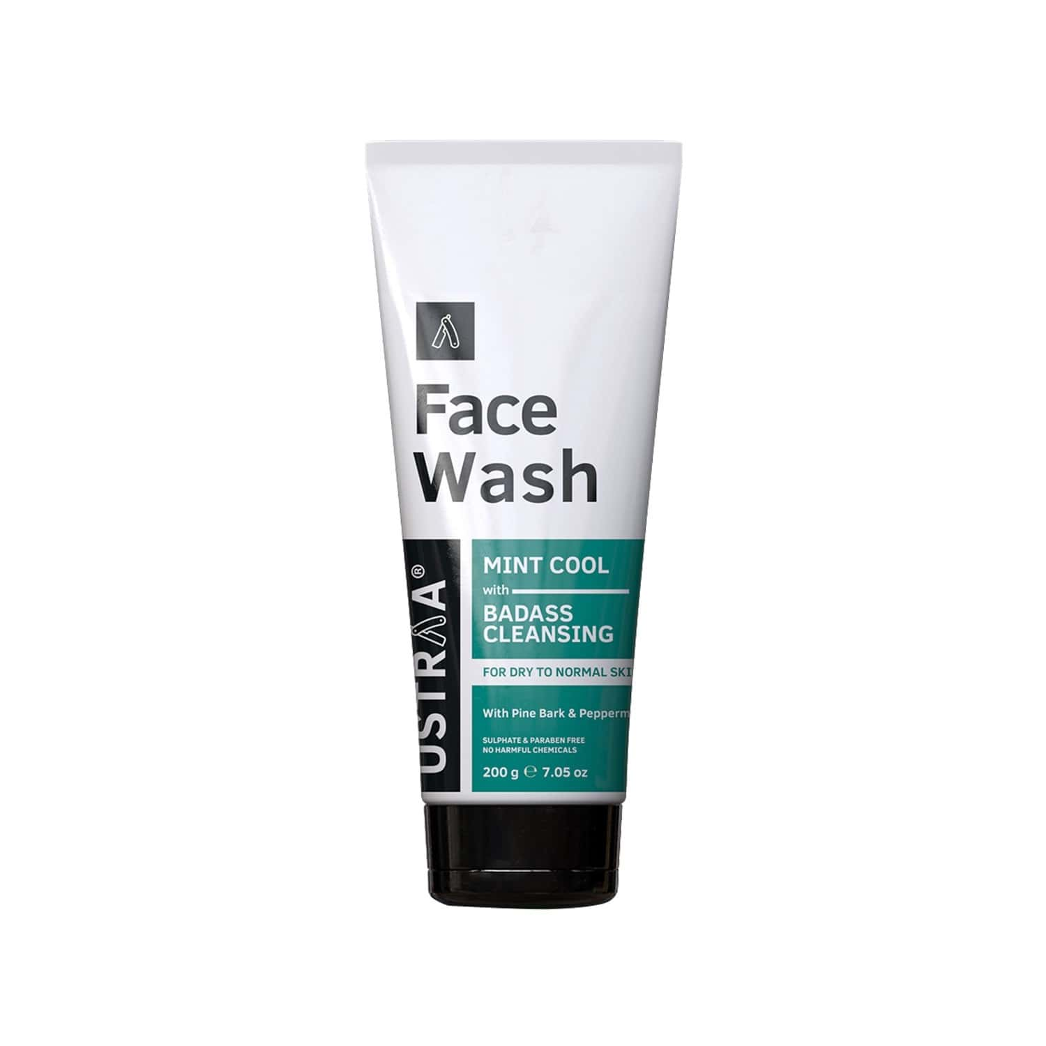 Ustraa Face Wash - For Dry Skin - 200 Gm