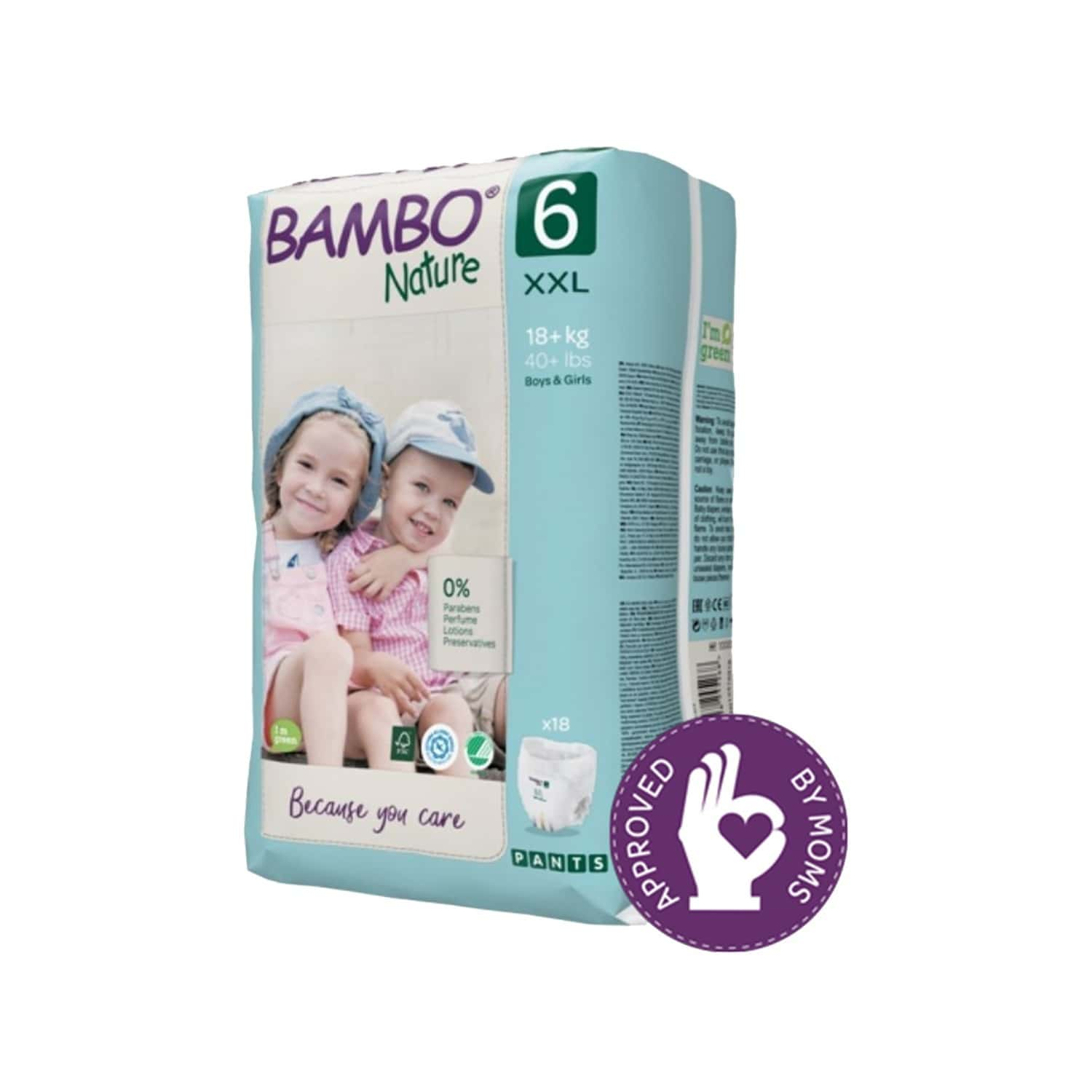 Bambo Nature Xxl Size Training Pants With Wetness Indicator - 18 Diapers