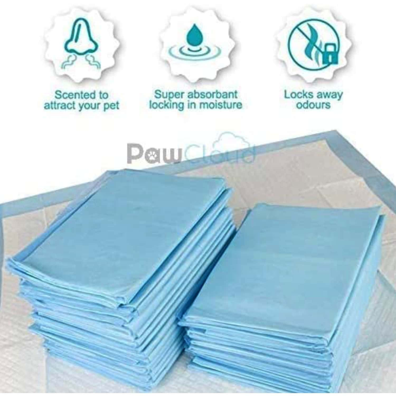 Pawcloud Pet Toilet Training Pad (17.5 X 23.3 Inches) -10 Pads