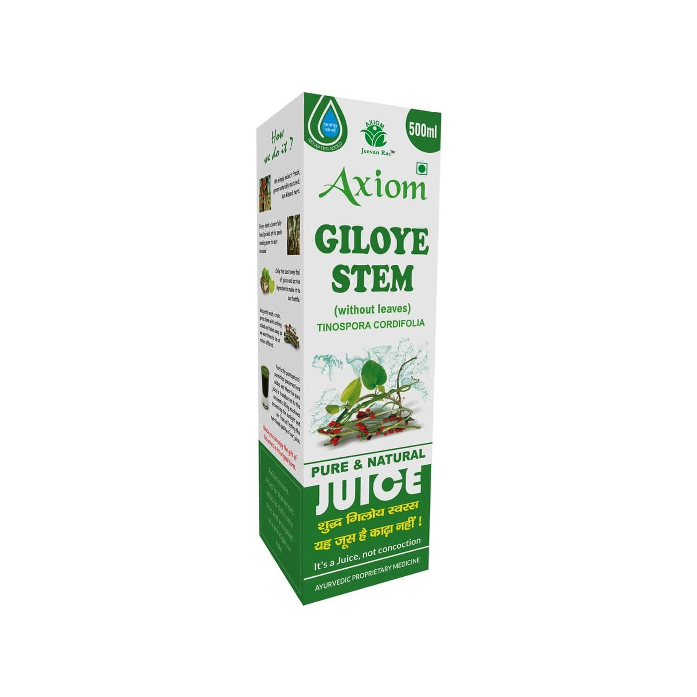 Axiom Jeevan Ras Giloye Stem Juice - 500ml