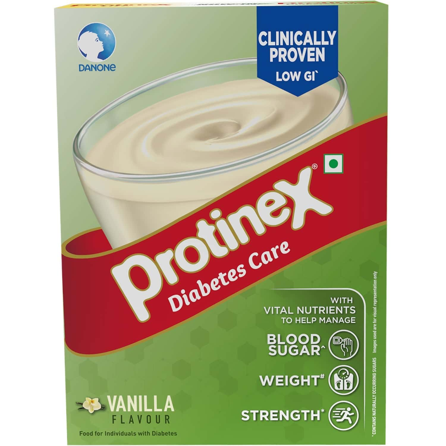 Protinex Diabetes Care Vanilla 200gm- Nutrition Drink For Indian Adults To Control Blood Sugar