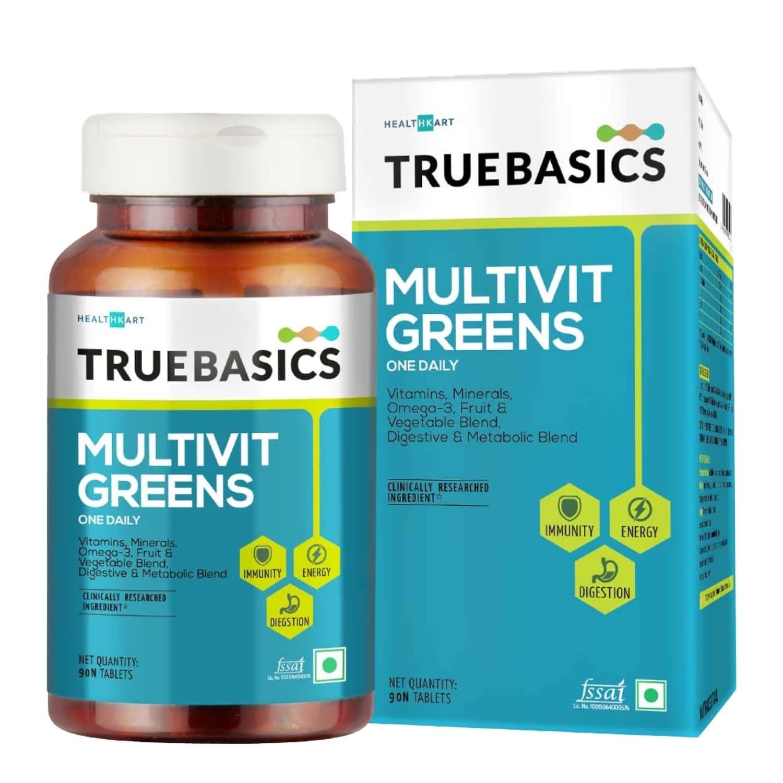 Truebasics Multivit Greens - 90 Tablets