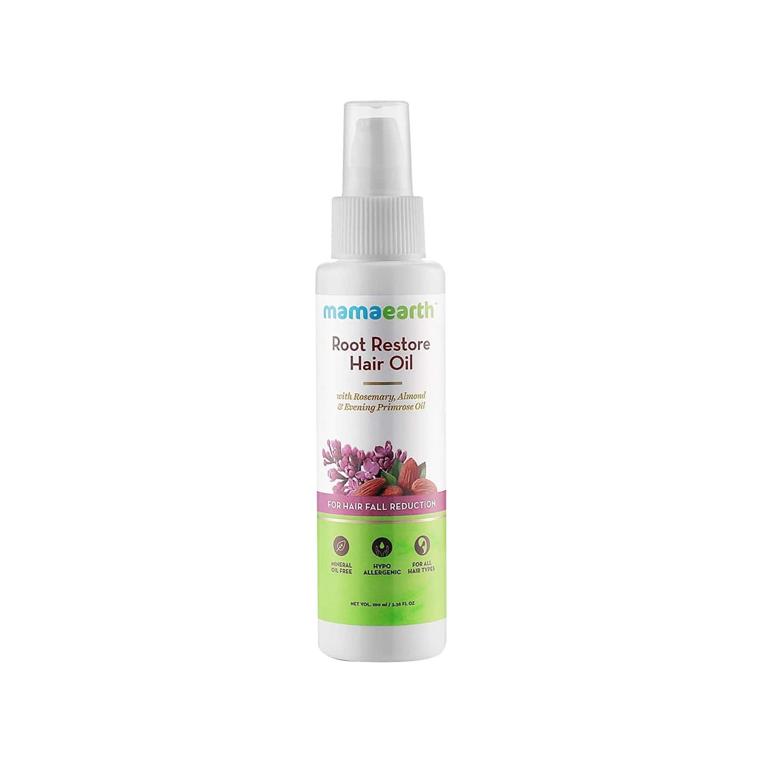 Mamaearth Root Restore  Hair Oil  Bottle Of 100 Ml