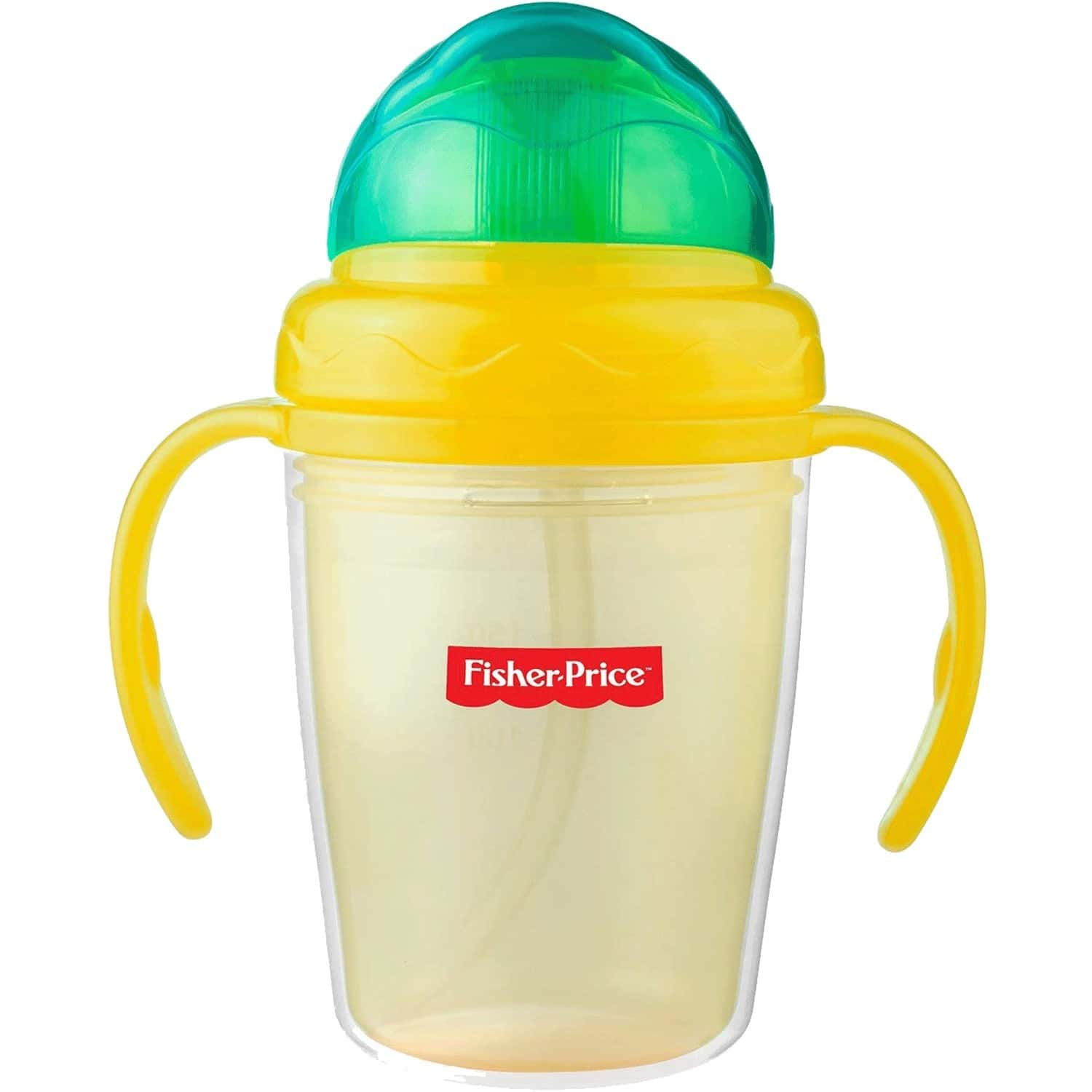 Fisher Price Double Wall Baby Sipper Training Cup 8oz/230ml Yellow