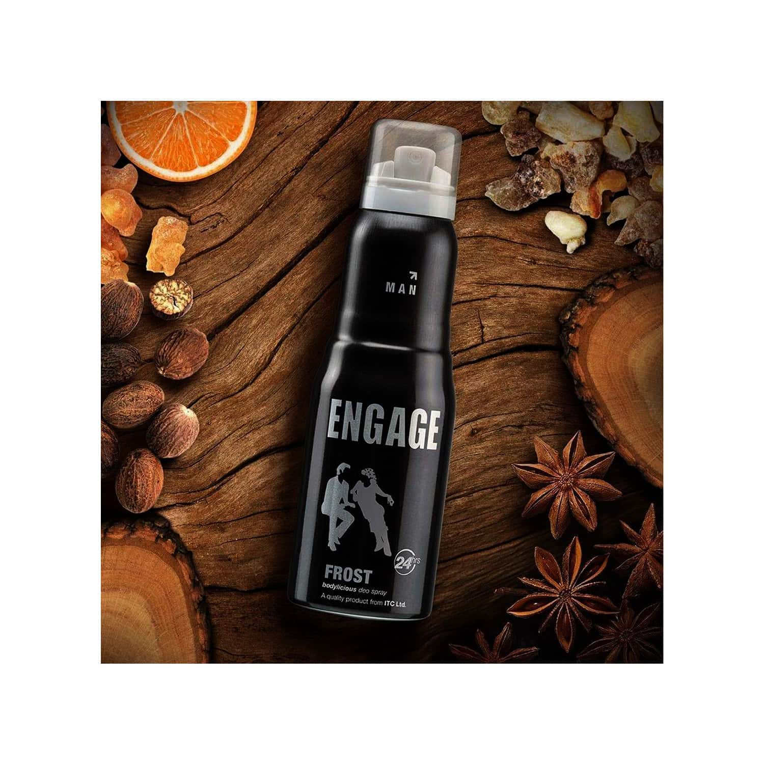 Engage New Metal Range Frost Deodorant Spray For Men -150ml