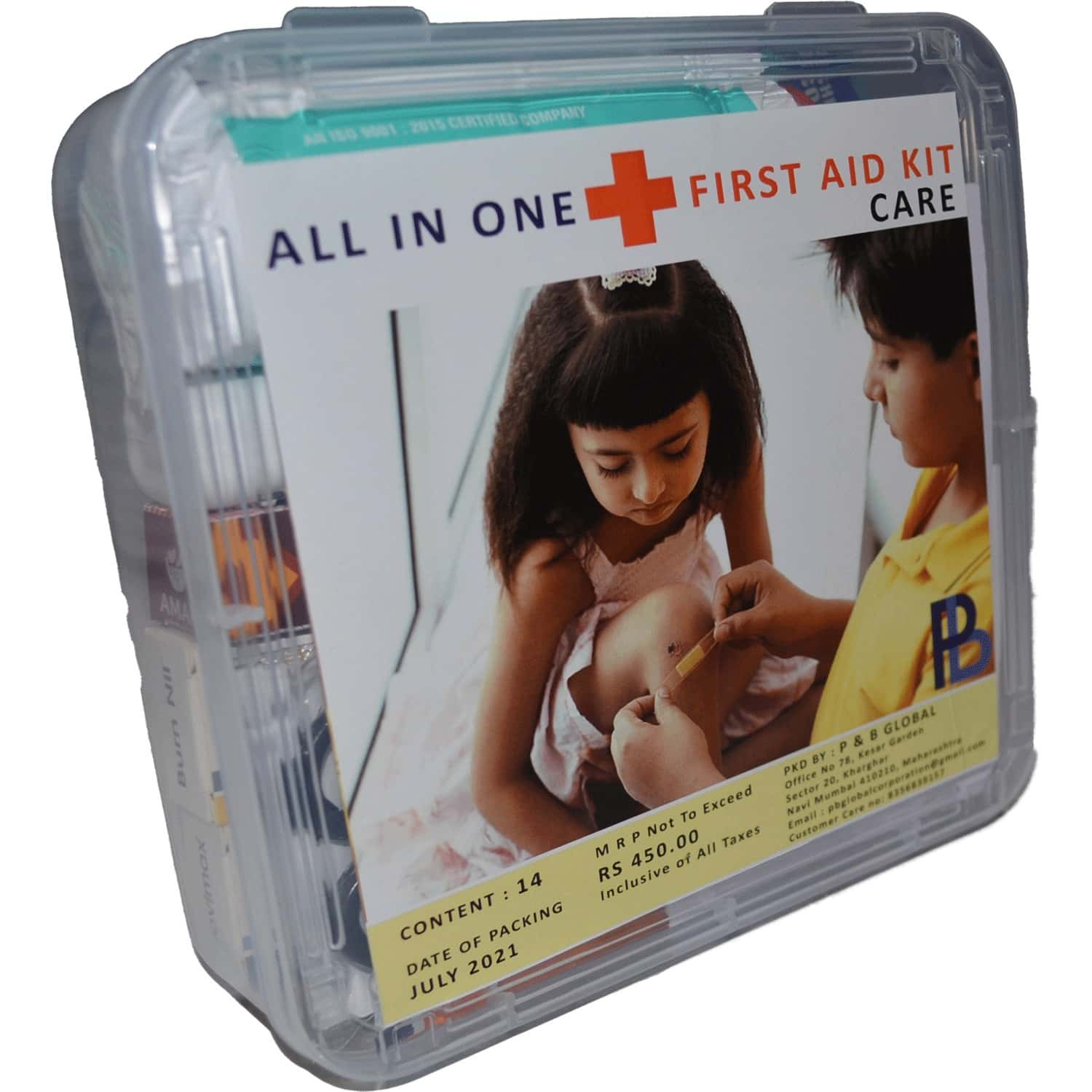 All In One First Aid Kit Care