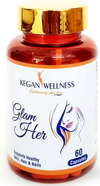 Kegan Wellness Glamher-hair Skin And Nails Supplements 60's