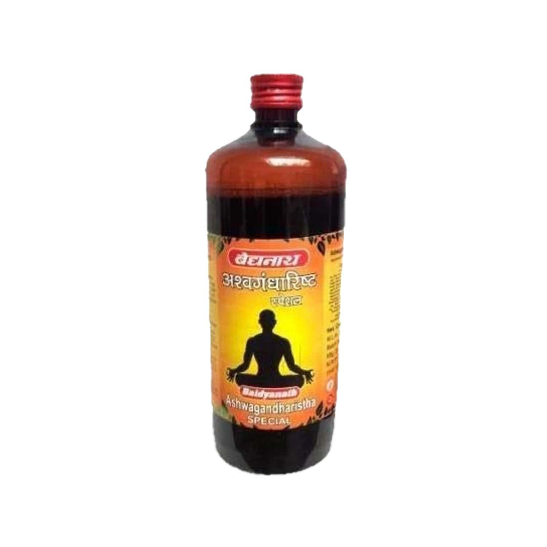 Baidyanath Ashwagandharishta Syrup - 450 Ml