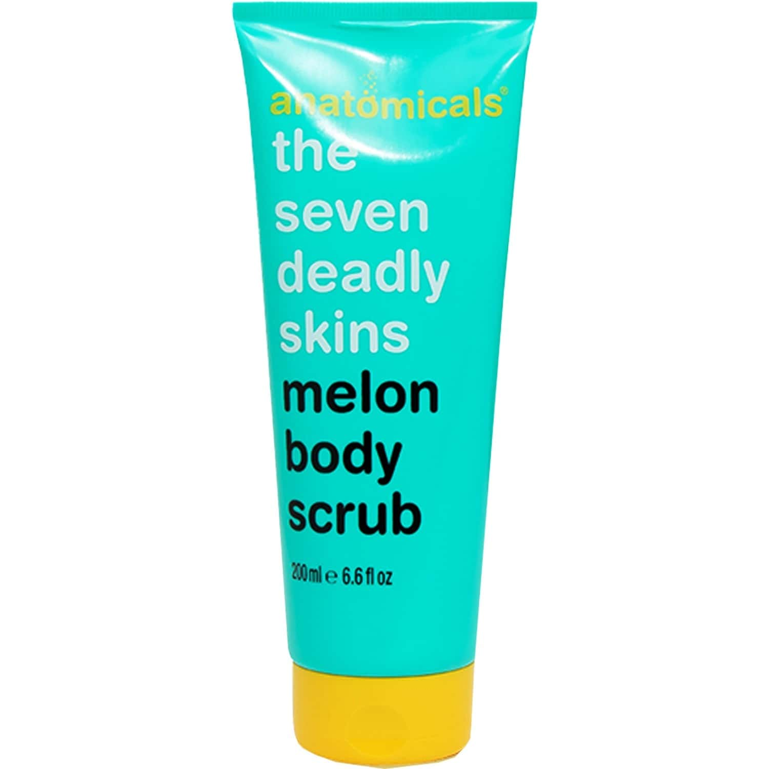Anatomicals   Melon Body Scrub With Pumice Granules And Melon Extract   Exfoliates The Dead And Dull Skin Away   Fruity Fragrance   Microbead And Paraben Free   200 Ml
