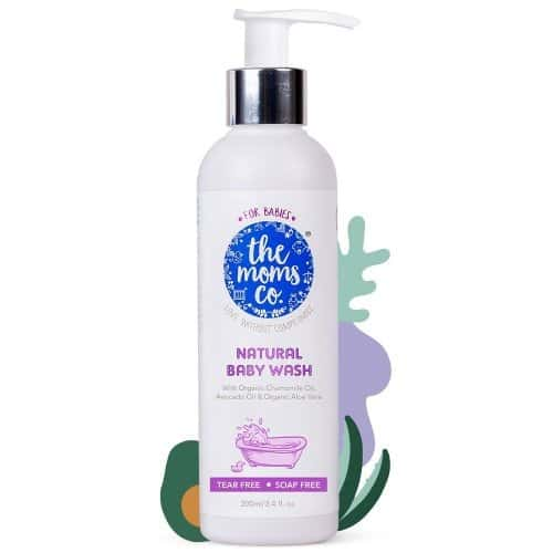 The Moms Co. Natural Baby Wash Bottle Of 200 Ml