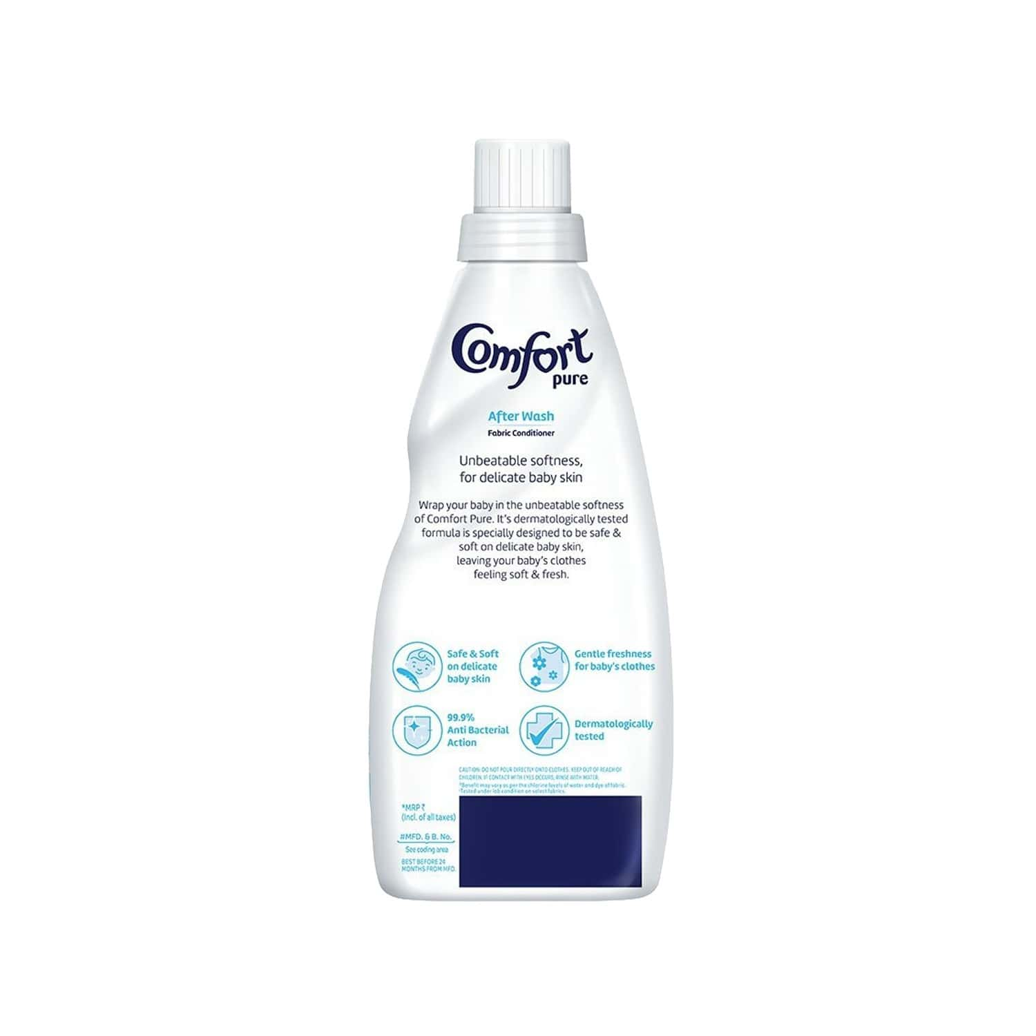 Comfort After Wash Pure Fabric Conditioner For Baby 220 Ml