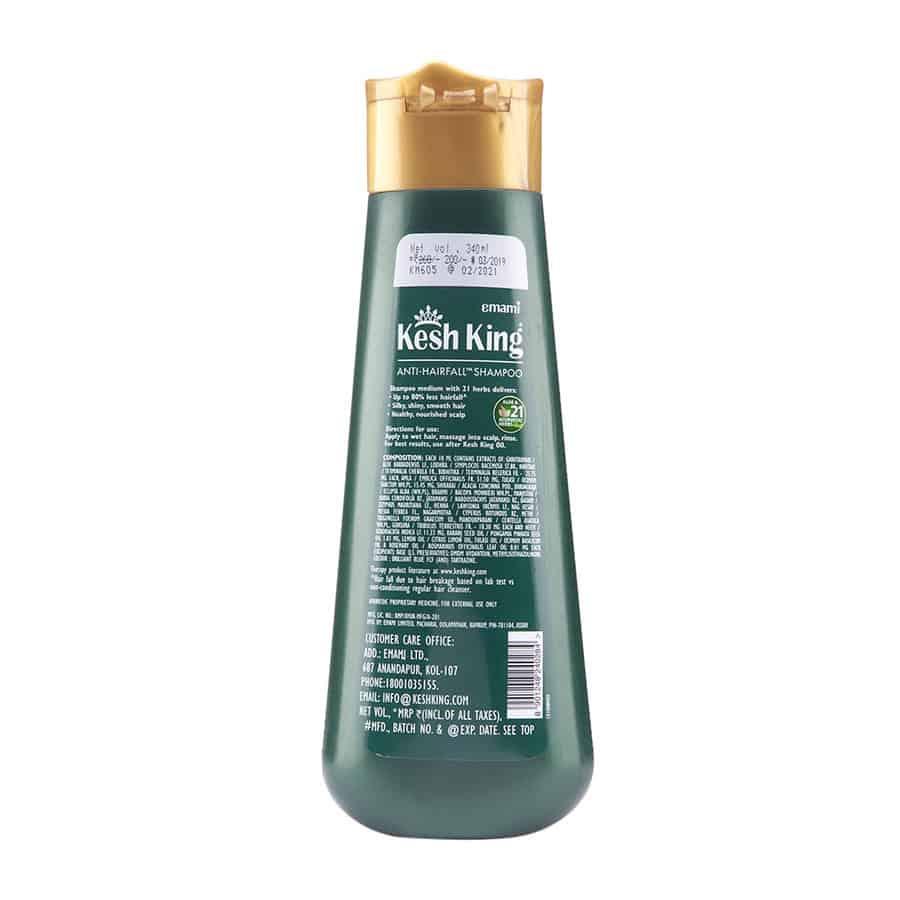 Kesh King Scalp And Hair Medicine Anti Hairfall Shampoo - 340 Ml