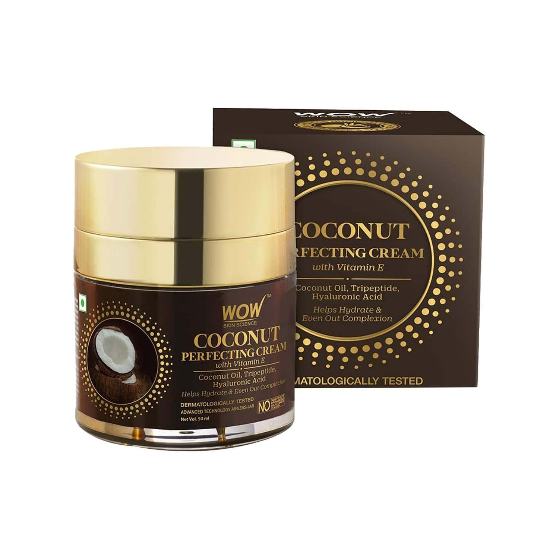 Wow Skin Science Coconut Perfecting Cream With Vitamin E - 50 Ml