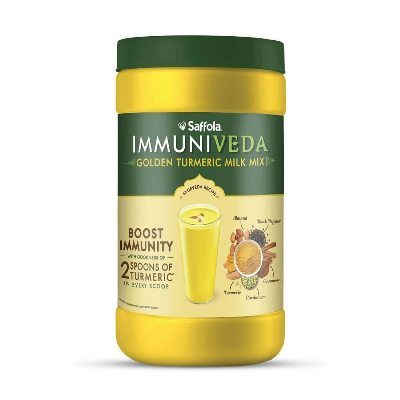 Saffola Immuniveda Golden Turmeric Milk Mix Ayurvedic Immunity Booster -400 G