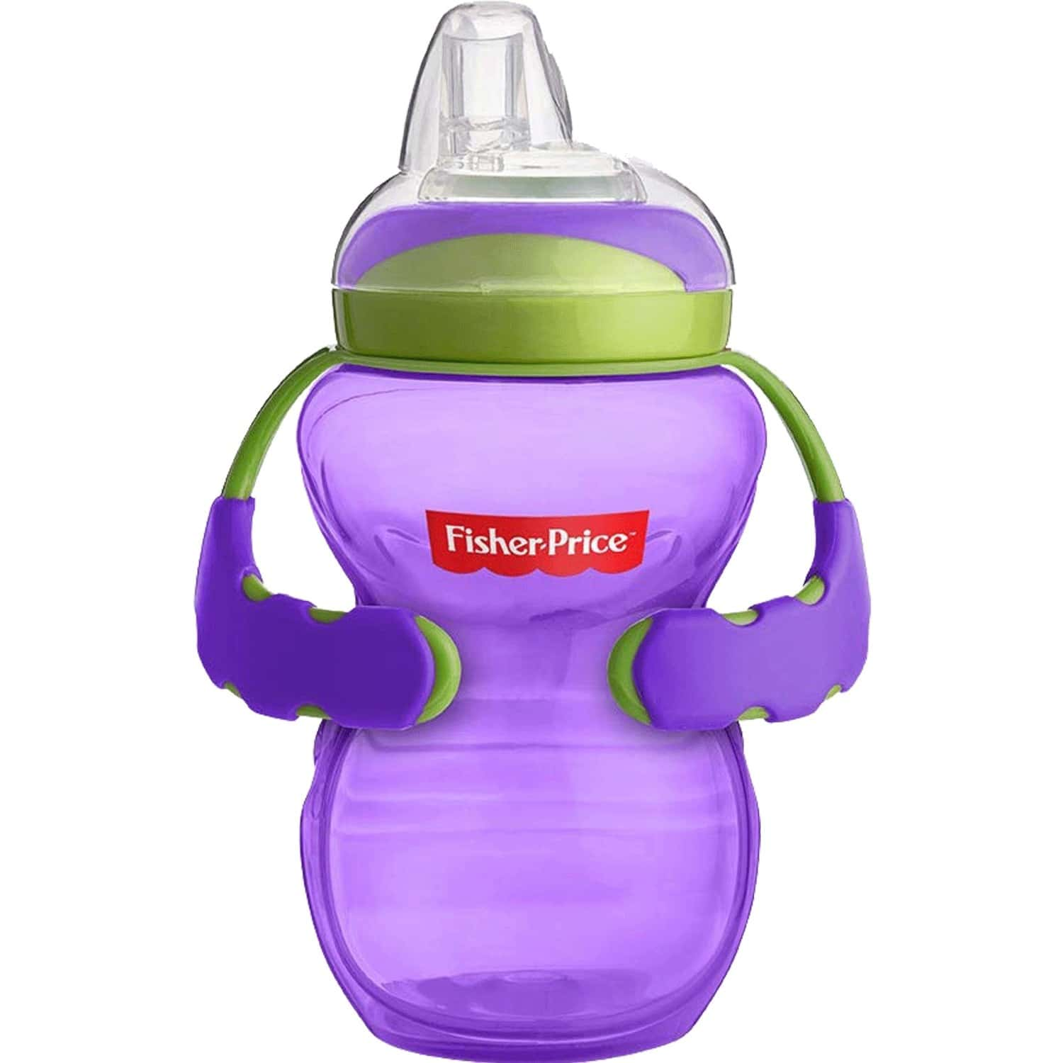 Fisher Price Spout Sippy Cup For Babies, 6m+, 10 Oz/ 300ml Purple