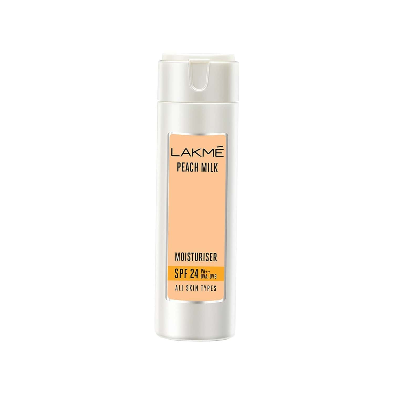 Lakme Peach Milk Moisturizer Spf 24 Pa Sunscreen Lotion-60 Ml