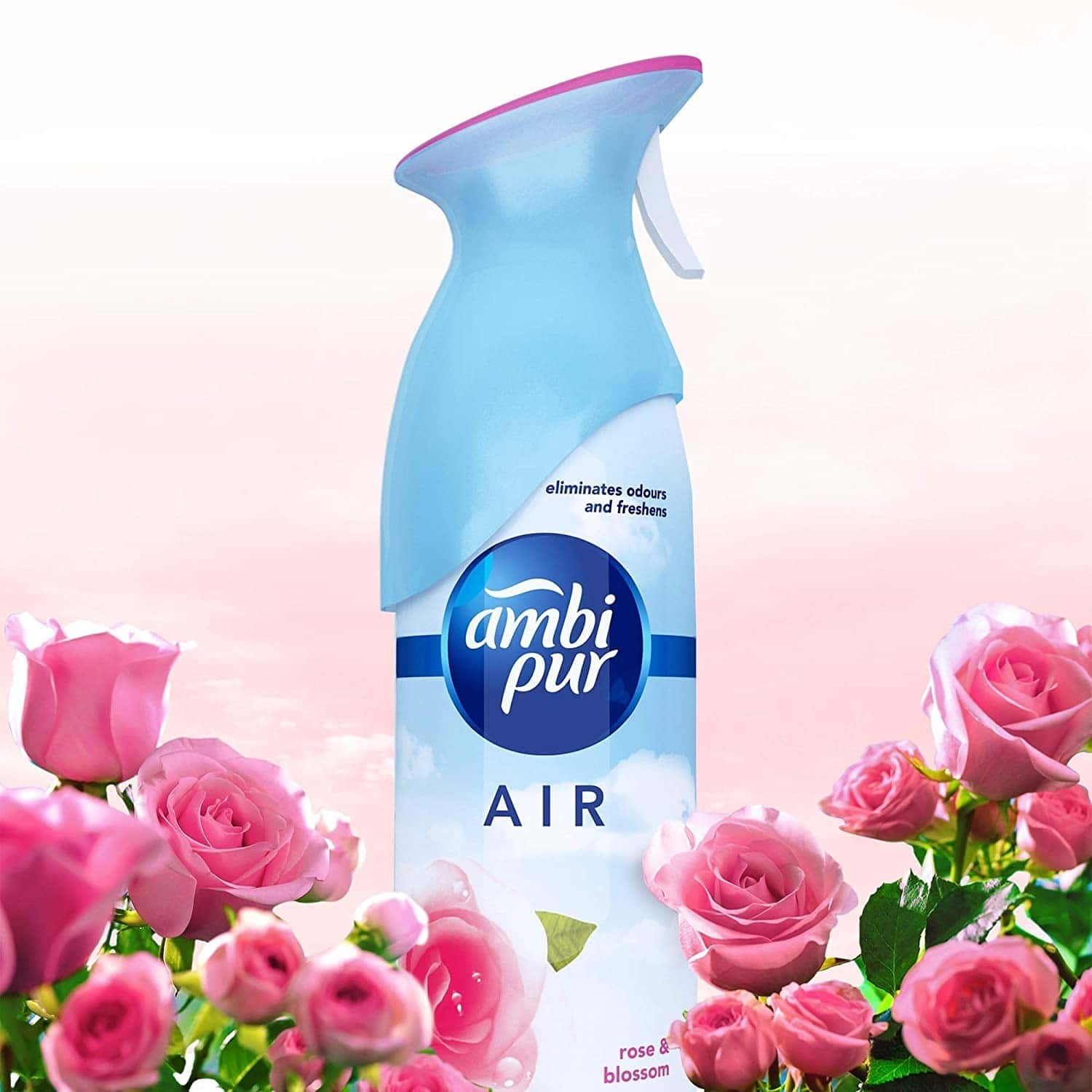 Ambi Pur Air Effect Rose And Blossom Air Freshener - 275g