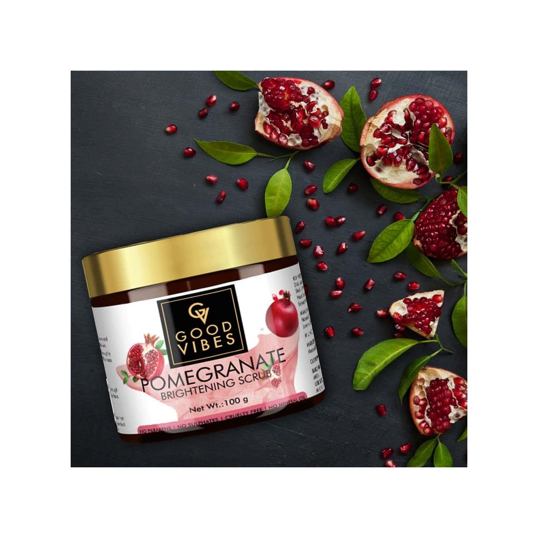 Good Vibes Brightening Scrub Pomegranate - 100 G