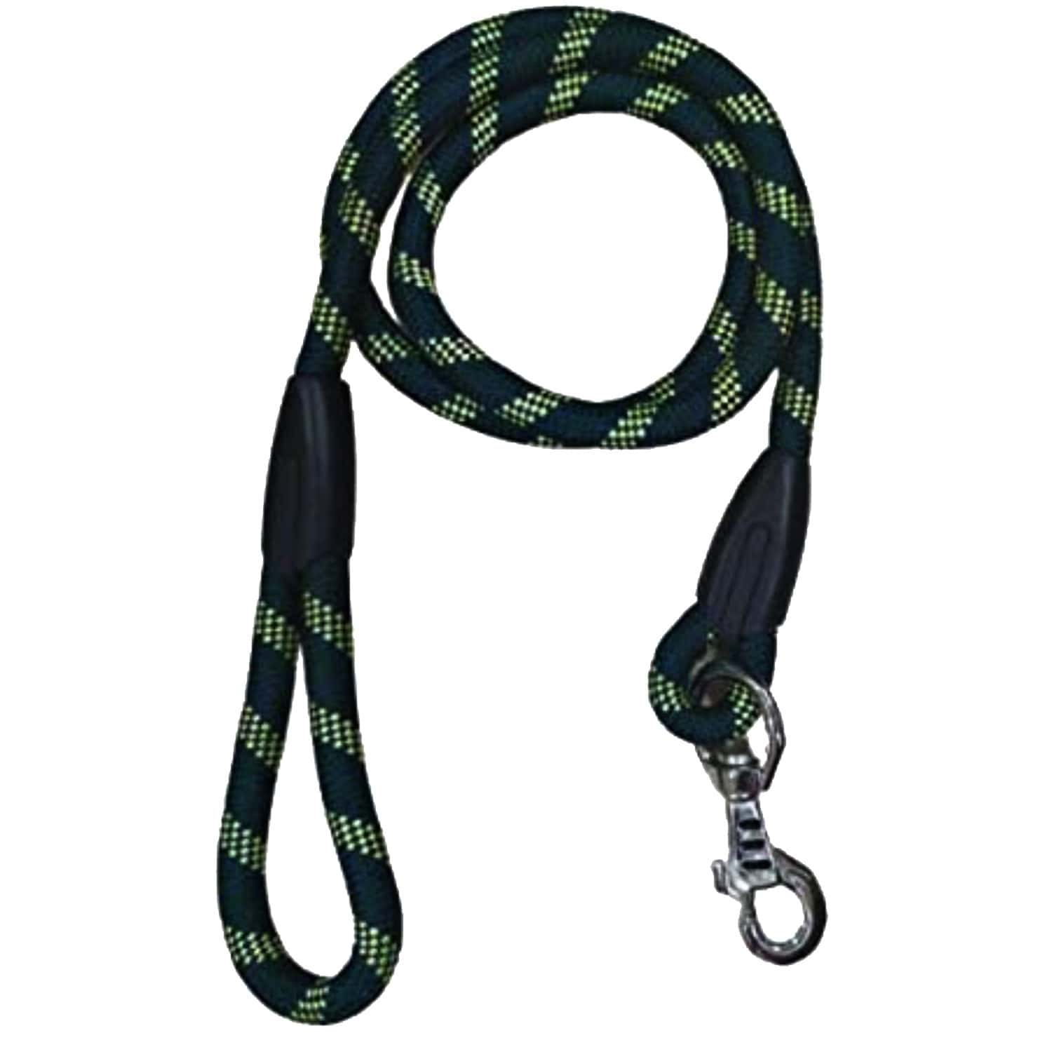 Pawcloud Dog Rope Leash, 6 Ft, Extra Large, Green - 72 Inch, For Large & Giant Dogs