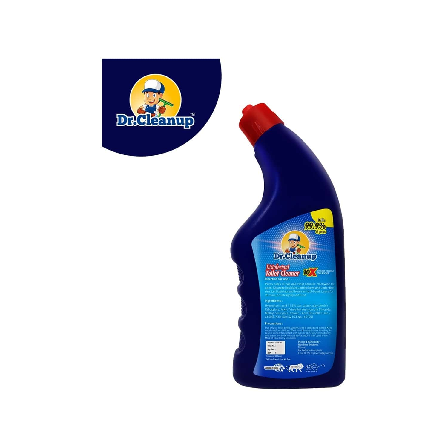 Dr Cleanup Disinfectant Toilet Cleaner - 500ml