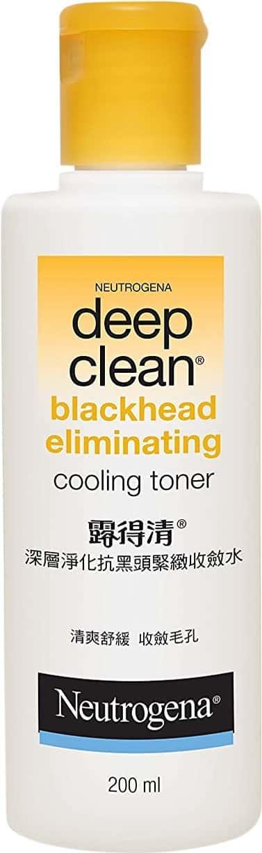 Neutrogena Deep Clean Blackhead Eliminating Cooling Toner - 200ml