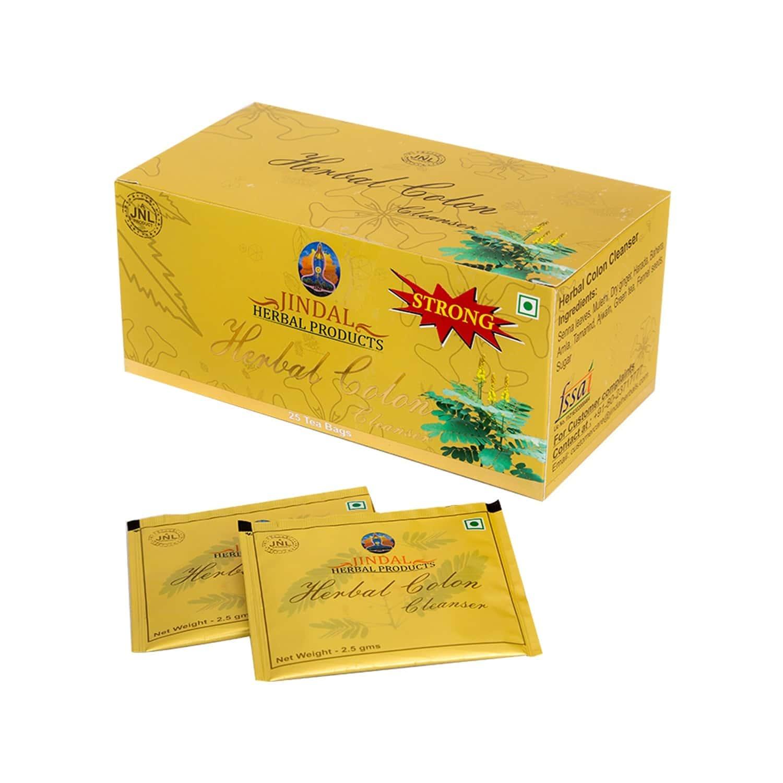 Jindal Herbals Colon Cleansing Powder Box Of (2.5 G X 25 Sachet)