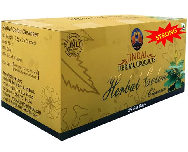 Jindal Herbals Colon Cleansing Powder Box Of 2.6 G