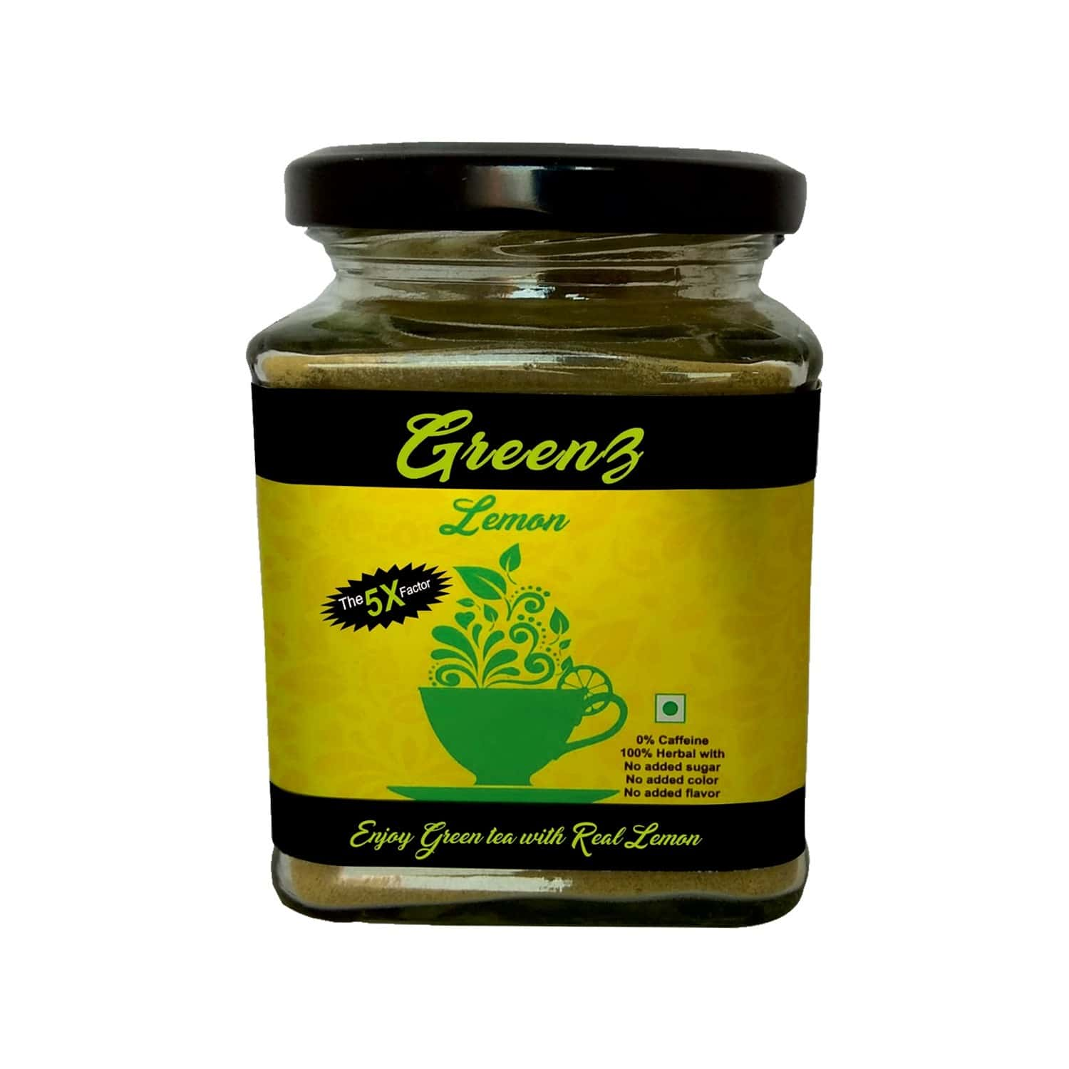 Greenz Green Tea Lemon - 60 G
