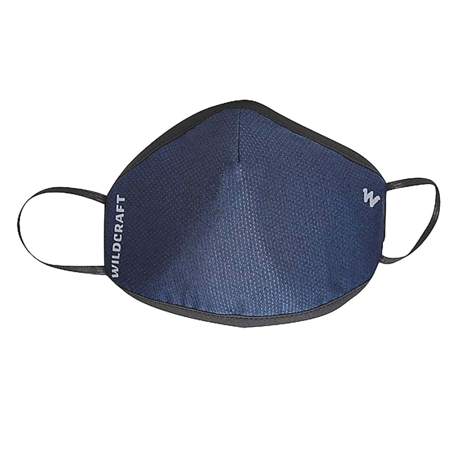 Wildcraft Supermask W95+ Reusable Outdoor Respirator Face Mask Anti-dust  Anti-bacterial   Anti-pollution- Size L (blue)