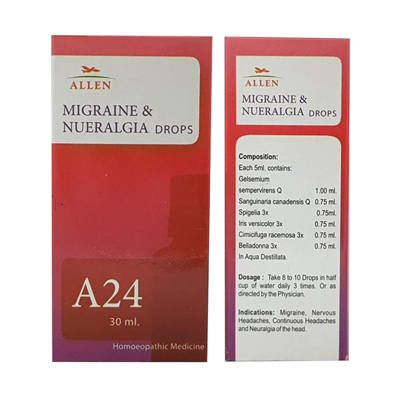 Allen A24 Homeopathy Drops 30ml