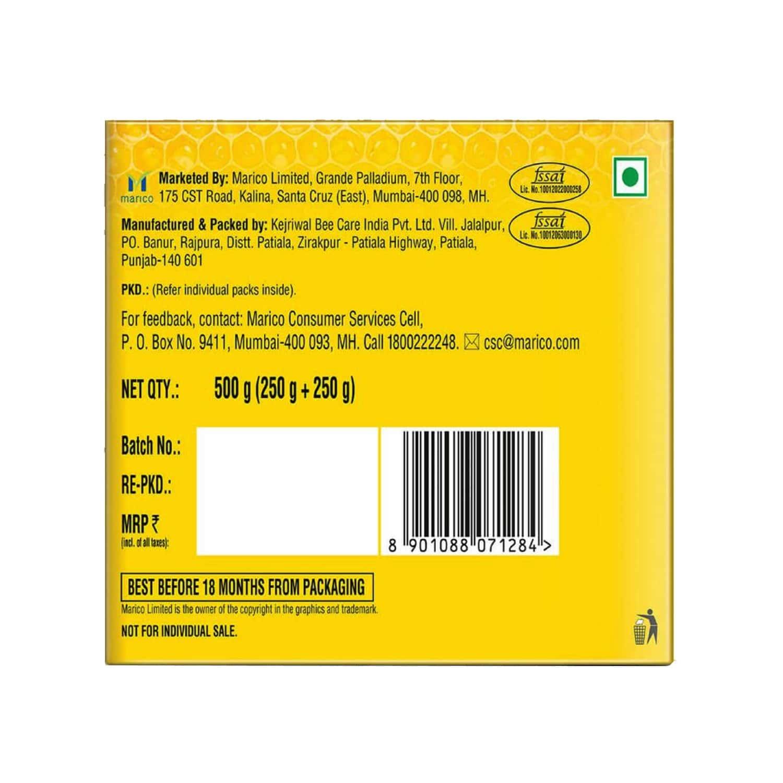 Saffola Honey Plus Ginger, Black Pepper, Cinnamon, Triphala - 250 Gm (pack Of 2)
