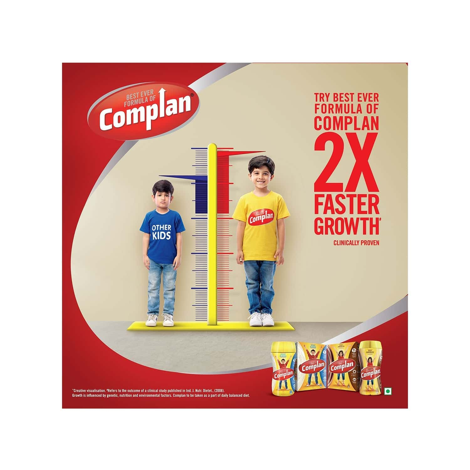 Complan Creamy Classic Nutrition Drink Box Of 1 Kg