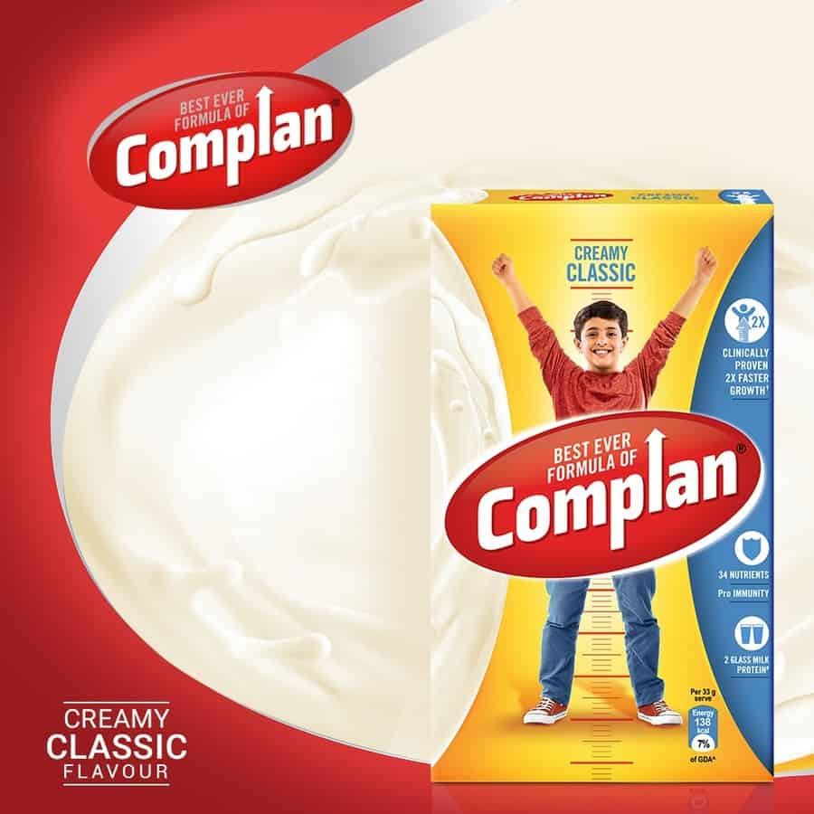 Complan Nutrition And Health Drink Creamy Classic - 1kg Box