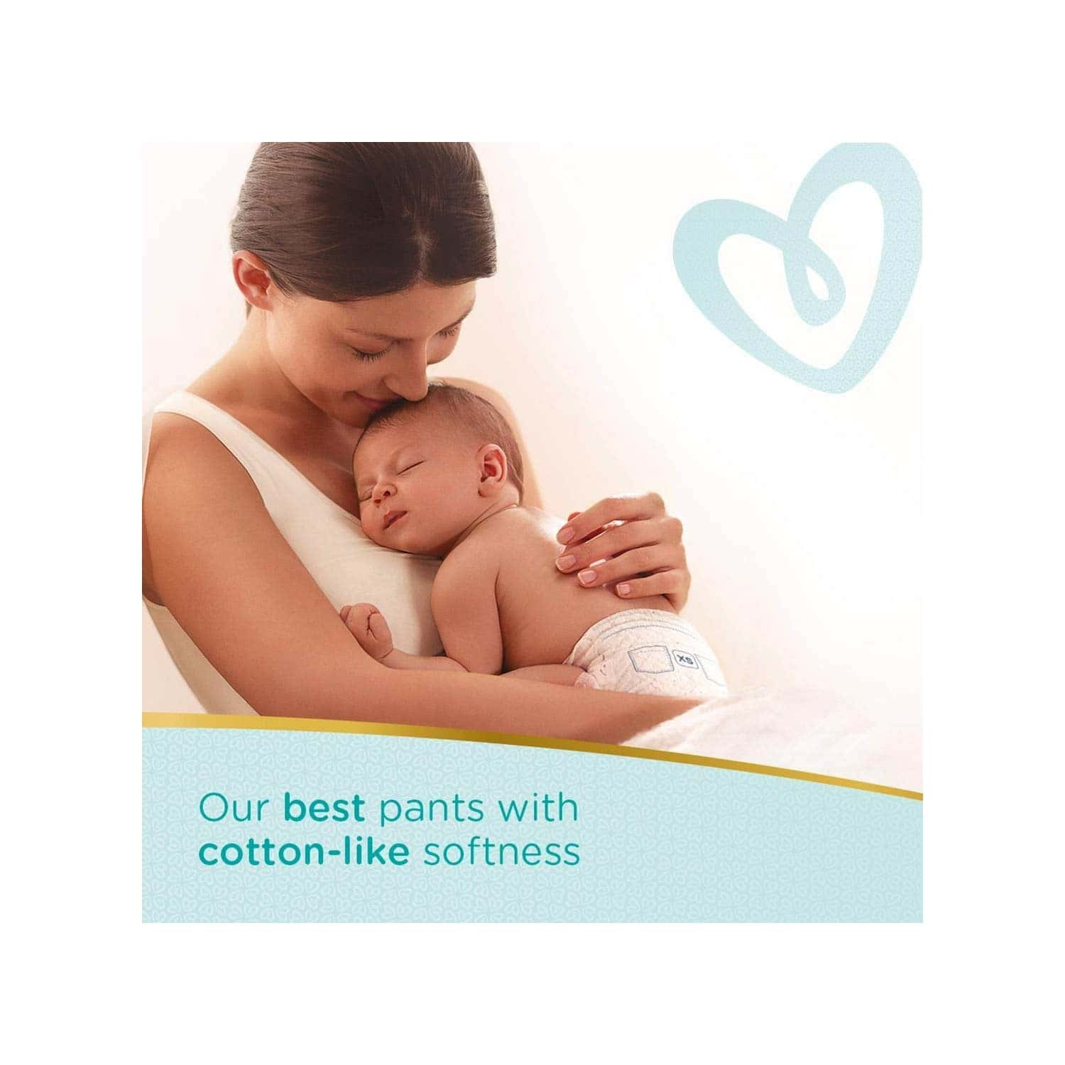 Pampers Premium Care Pants Diapers, New Born - 50 Count