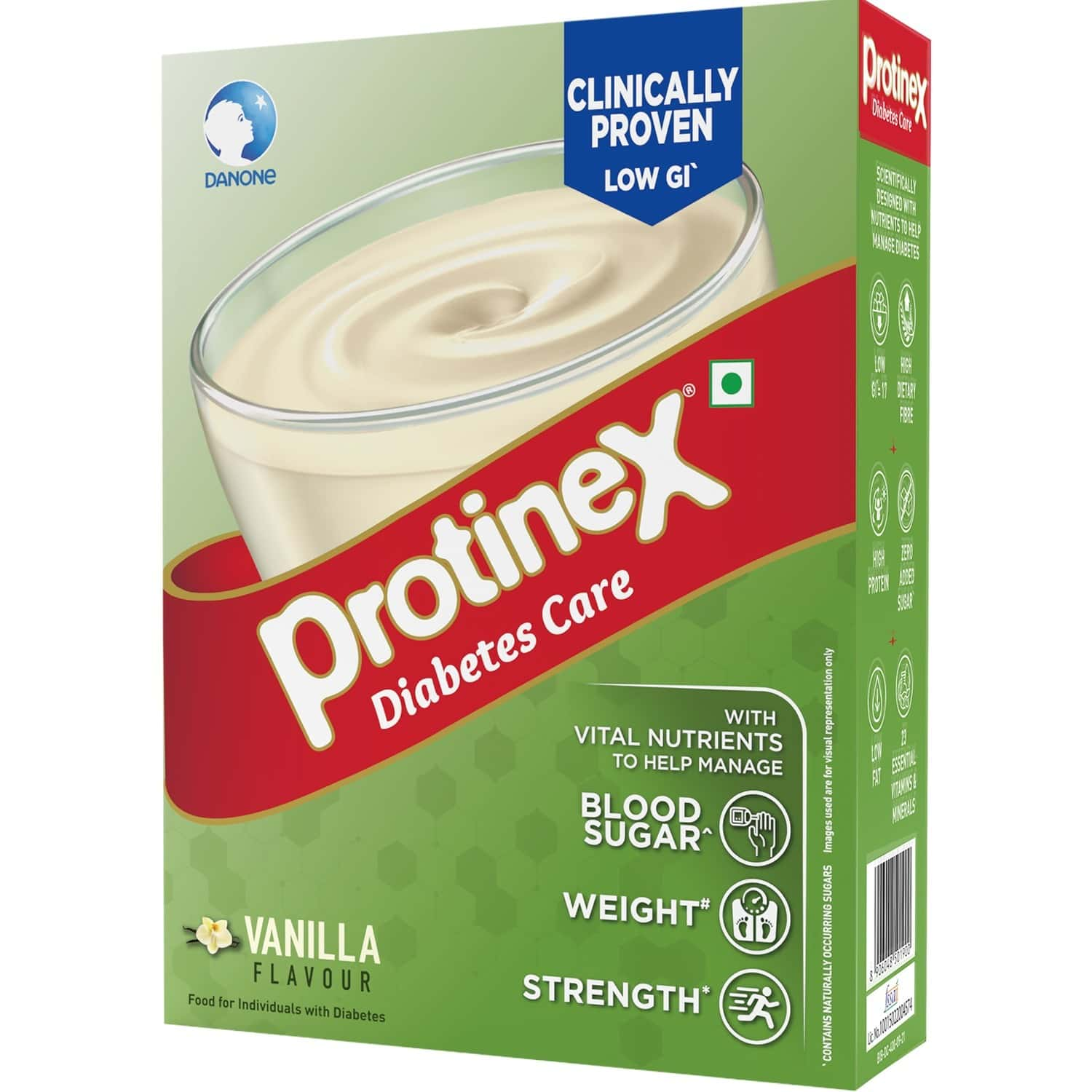 Protinex Diabetes Care Vanilla 400gm- Nutrition Drink For Indian Adults To Control Blood Sugar