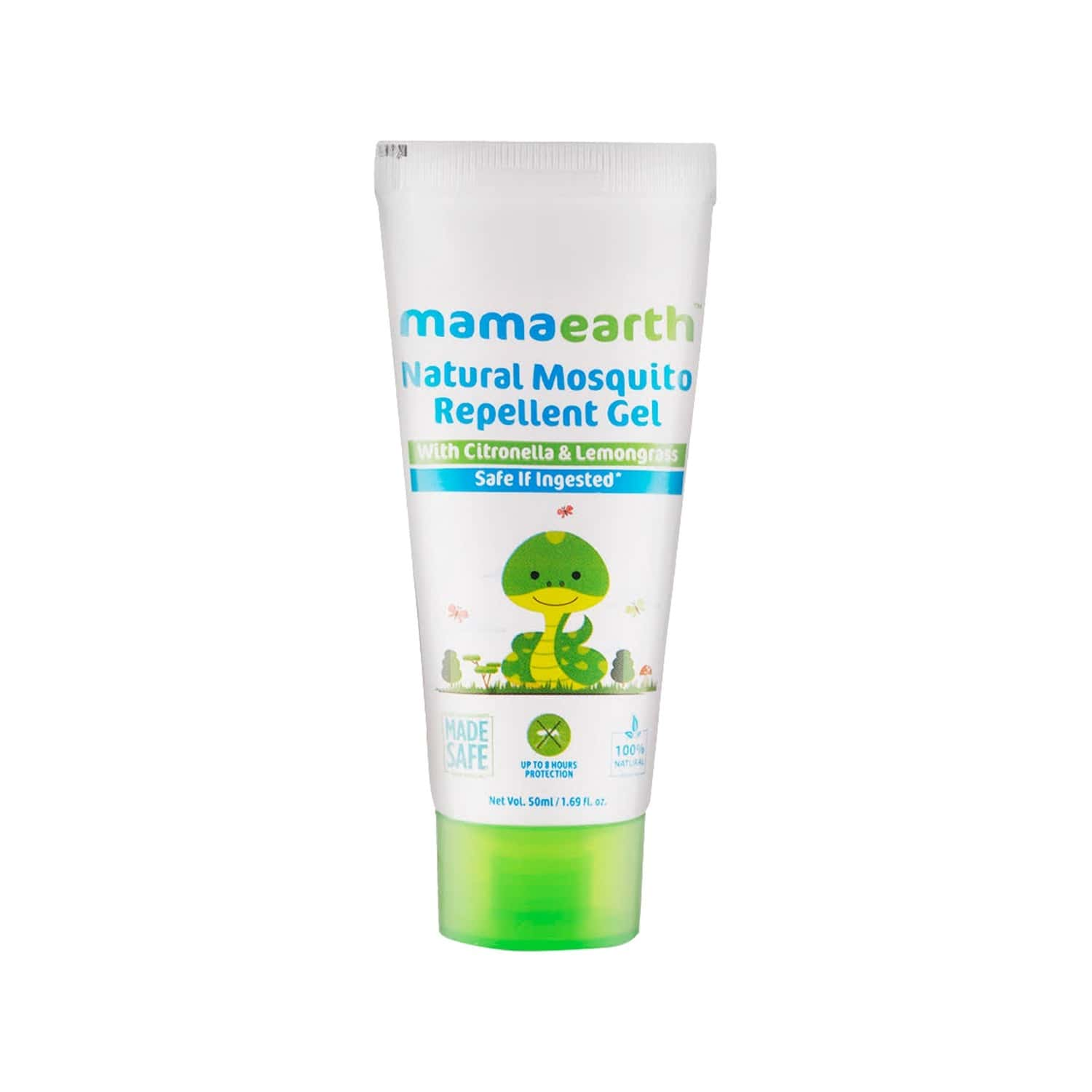 Mamaearth Natural  Mosquito Repellent Gel  Tube Of 50 Ml