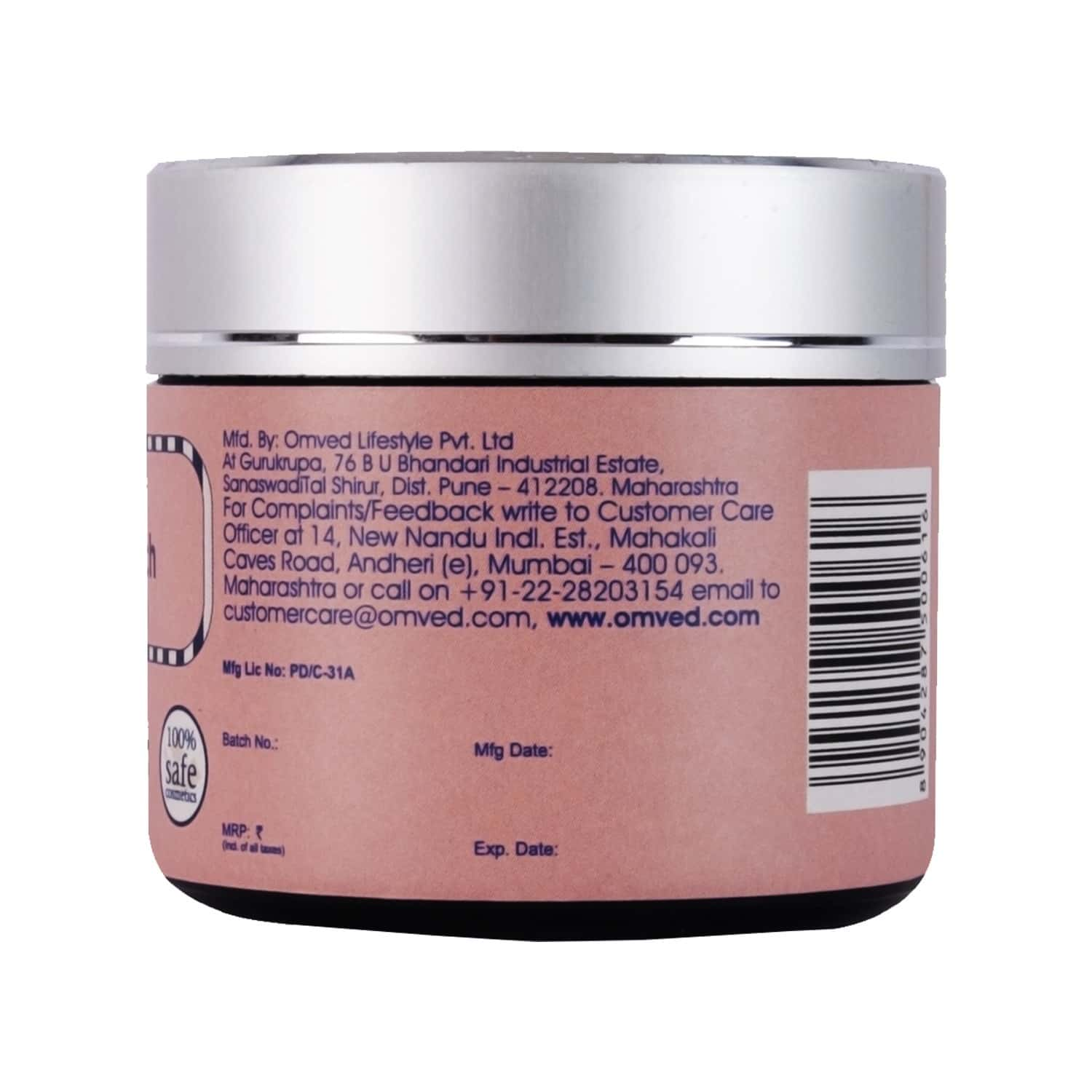 Omved Anti Stretch Belly Balm | Ayurvedic, Natural And Chemical Free Cream For Pregnancy Stretch Marks-40 G