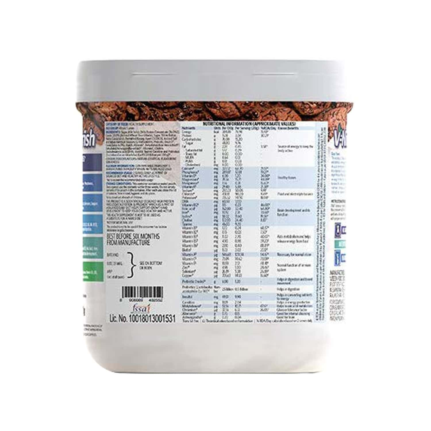 V-nourish Choco Cookie Child Nutrition Drink Above 5 Years Jar Of 200 G