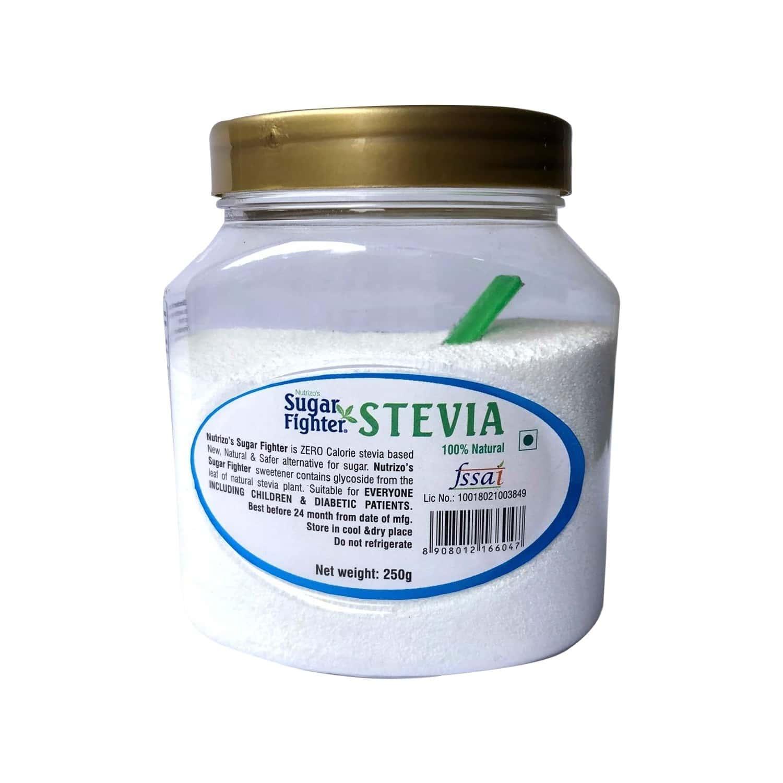 Sugar Fighter Stevia Powder Jar Of 250 G