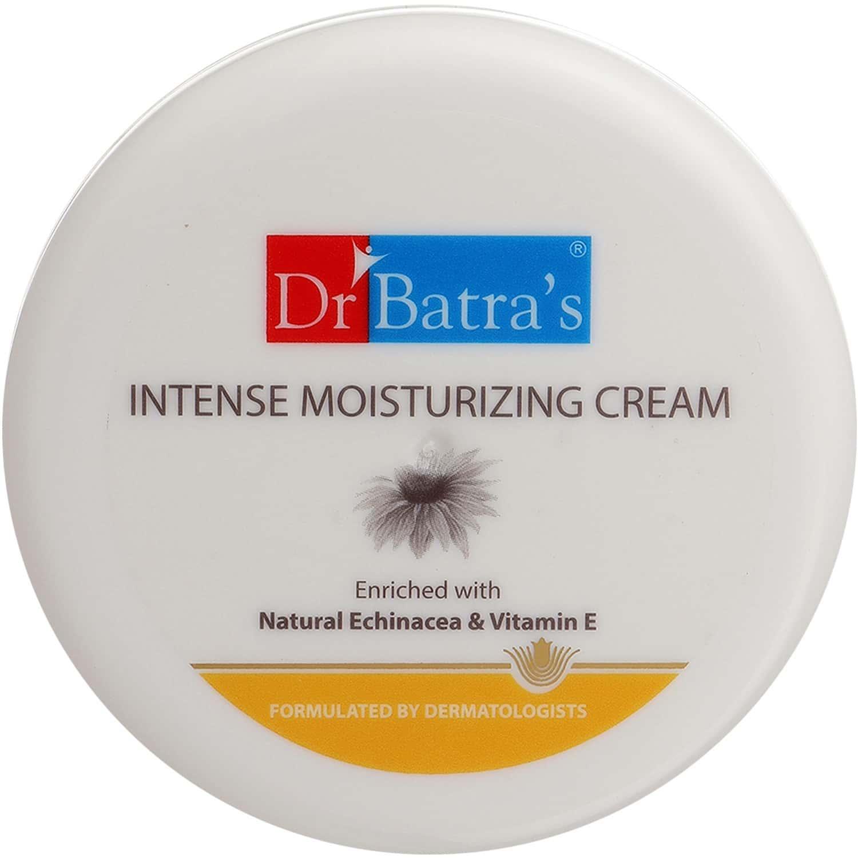 Dr Batra's Intense Moisturizing Cream Enriched With Echinacea & Vitamin E - 100 Gm
