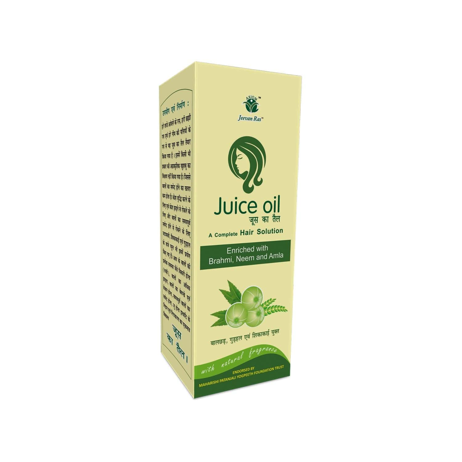 Axiom Jeevan Ras Juice Oil - 200ml ( Pack Of 2)