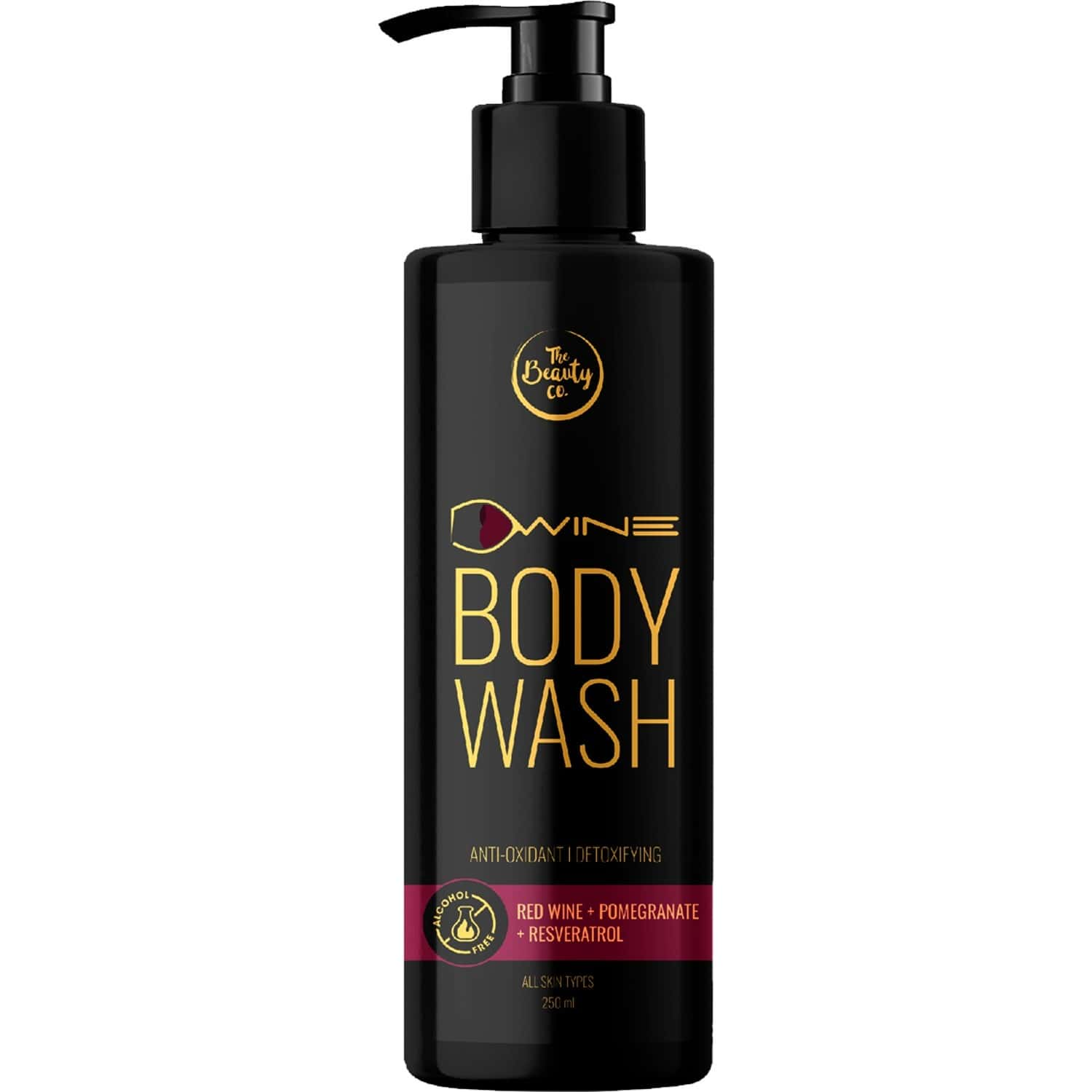 The Beauty Co. D`wine Body Wash With Red Wine, 250ml