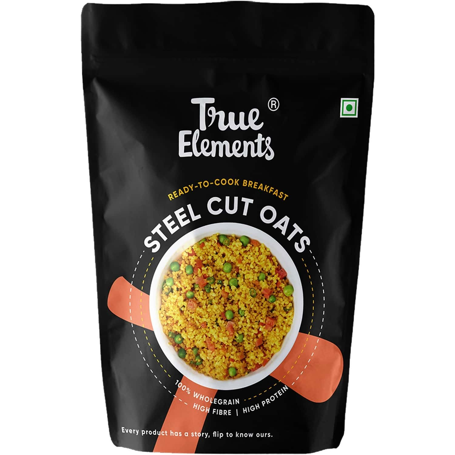 True Elements Steel Cut Oats Gluten Free - 500gm