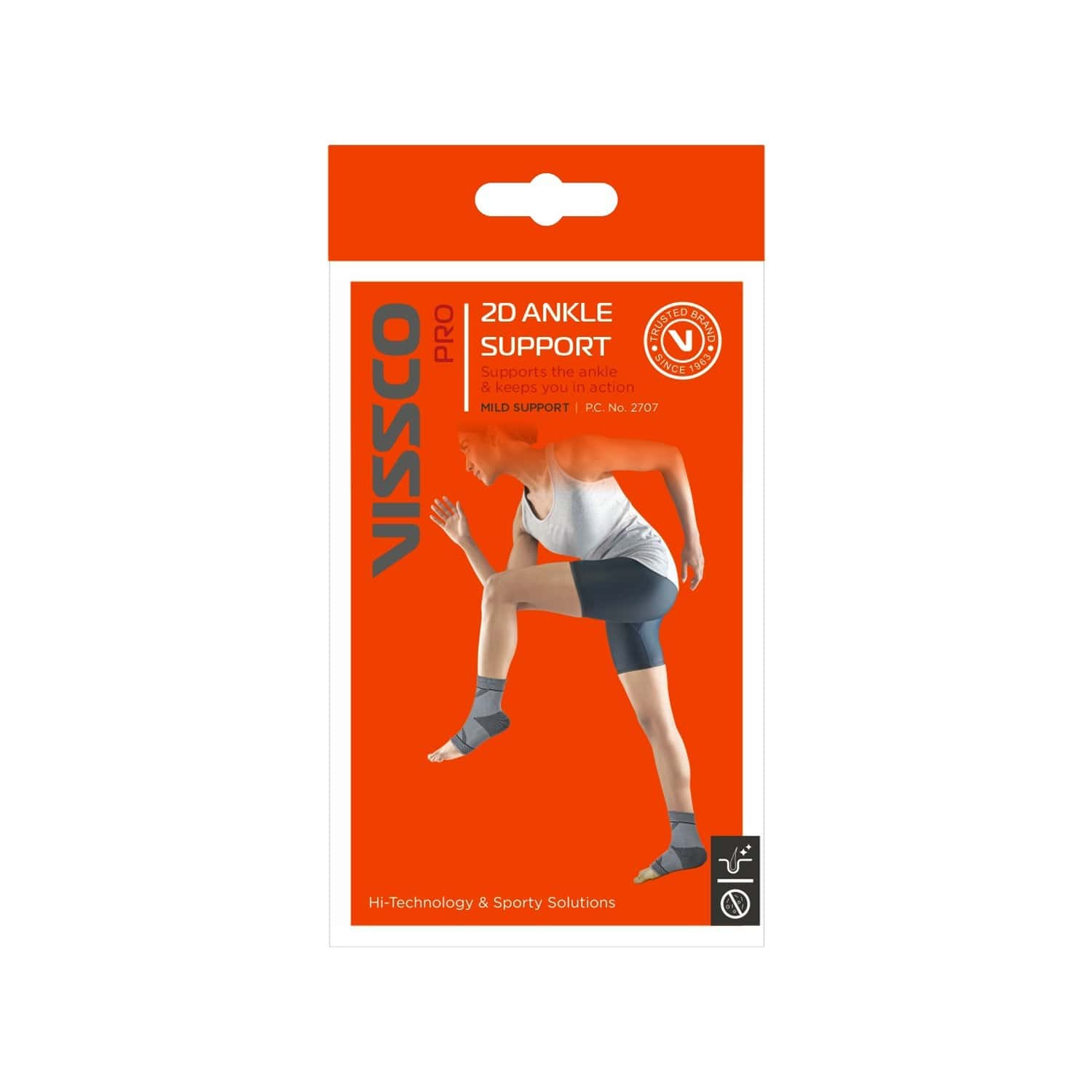 Vissco Pro - 2d Ankle Support Small