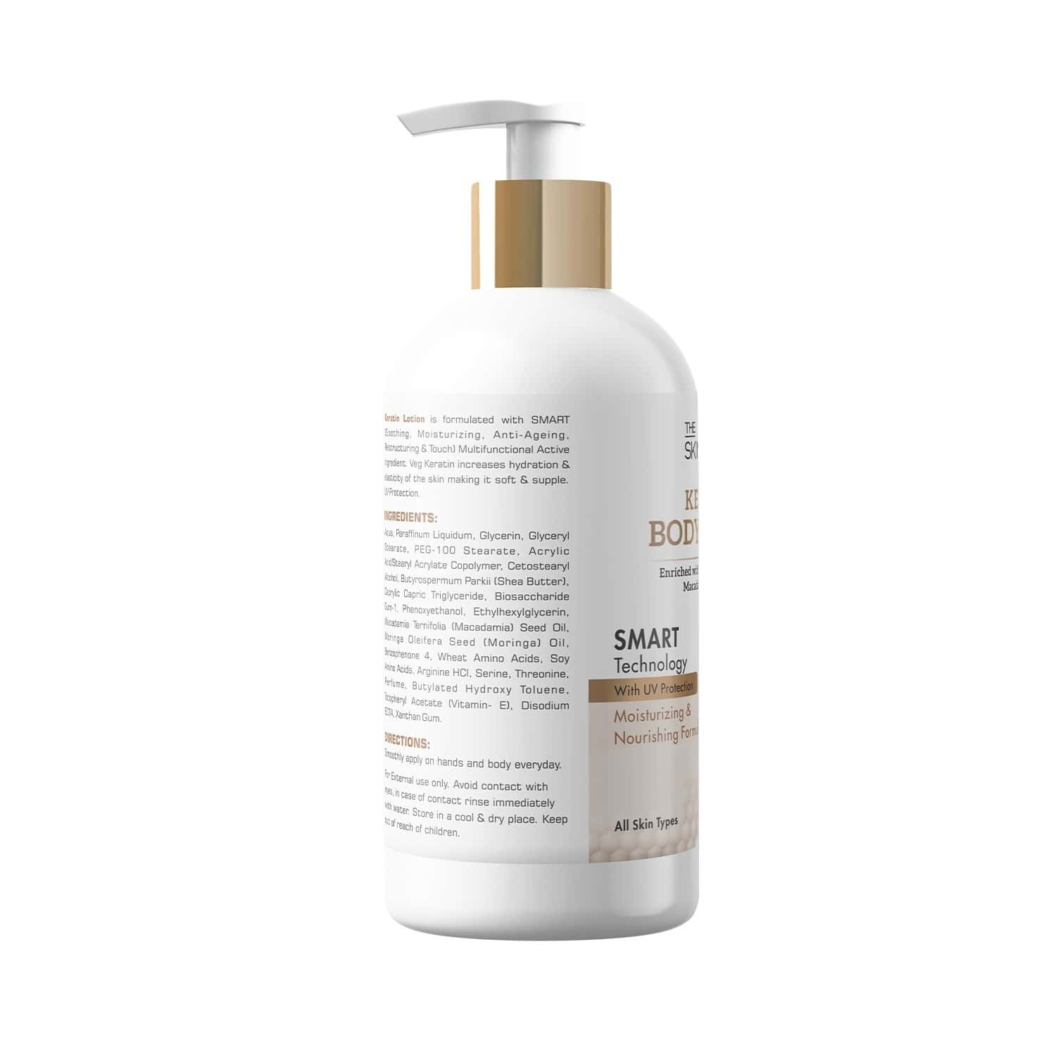 The Skin Story Keratin Body Lotion , Smart Technology , Uv Protection - 280 Ml